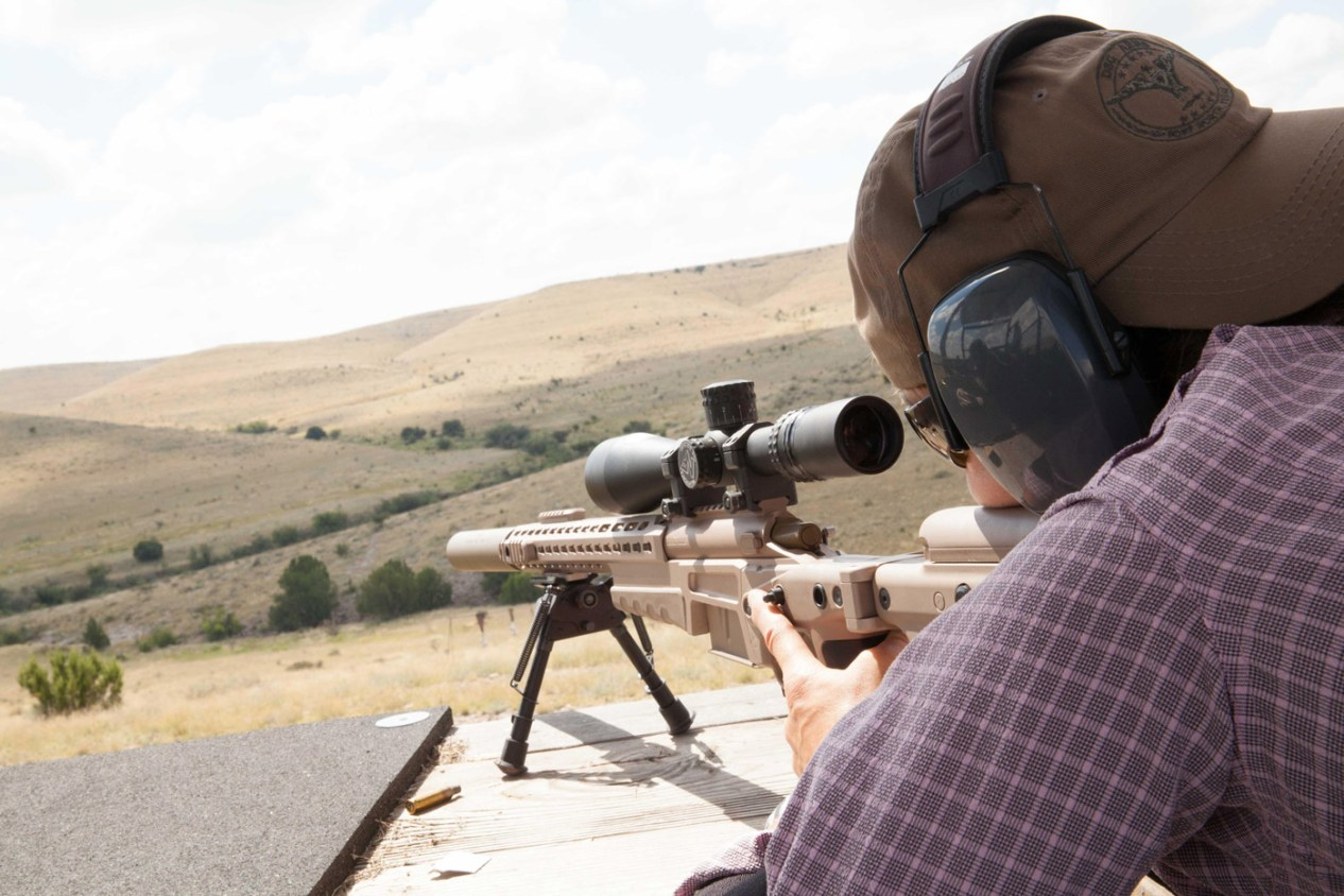 long range rifle shooting