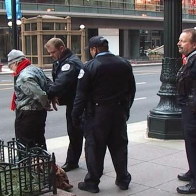 Police Making an Arrest