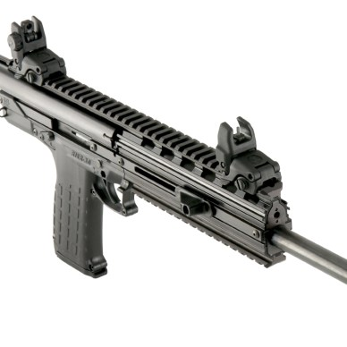Picture shows the Kel-Tec CMR-30 carbine.