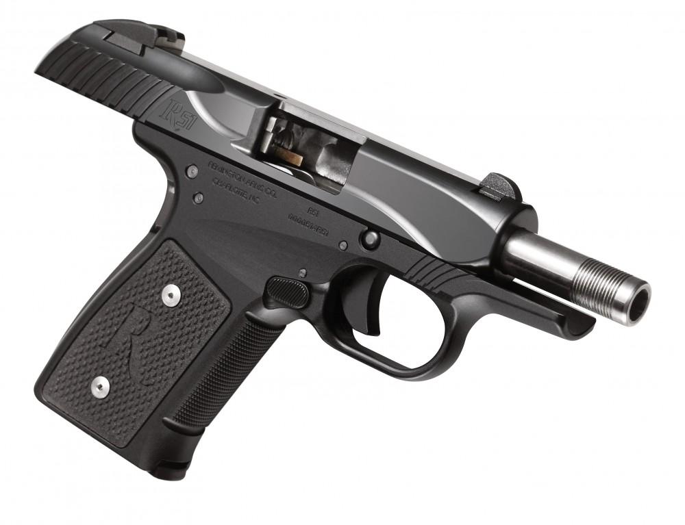 Remington R51 Slide Open