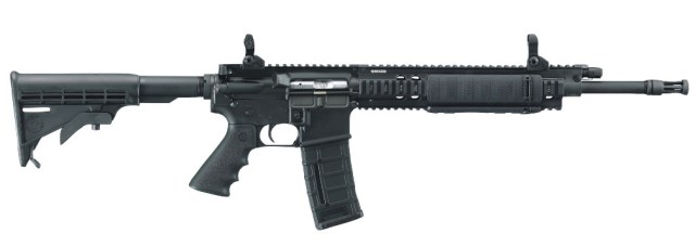 Ruger SR-556 rifle right side black