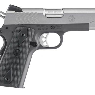 Ruger SR1911 9mm pistol right profile
