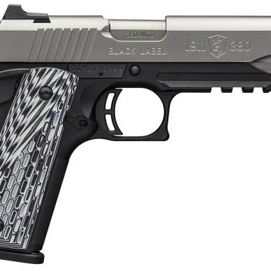 Browning Black Label 1911-380 Pro Stainless pistol