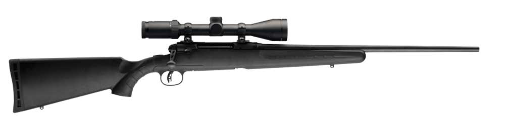 Savage Axis rifle rifle side