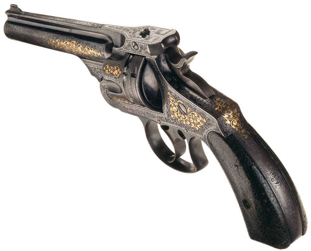 Smith and Wesson 44 Frontier revolver
