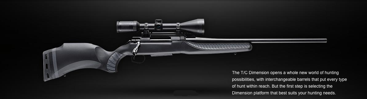 T/C Dimension rifle profile right