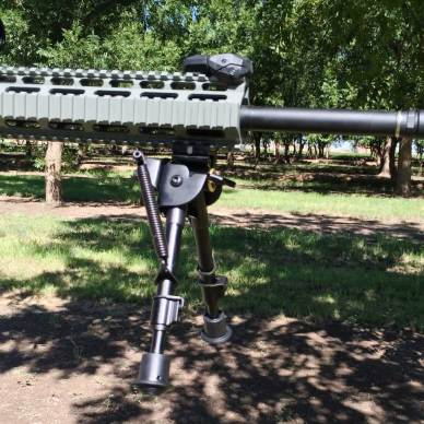 Tac Shield 6 to 9 inch heavy duty bipod extended
