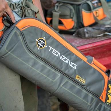 Tenzing TZ UPSCB 52 Upland Shotgun Case with orange