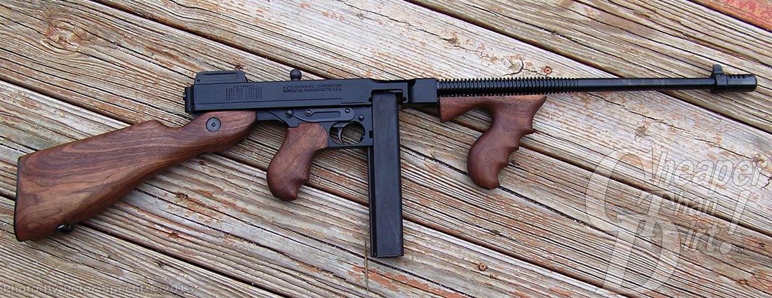 The Auto-Ordnance Thompson Carbine — Americana at its Finest