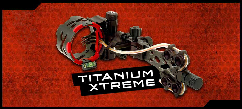Archer Xtreme Titanium Xtreme bow sight