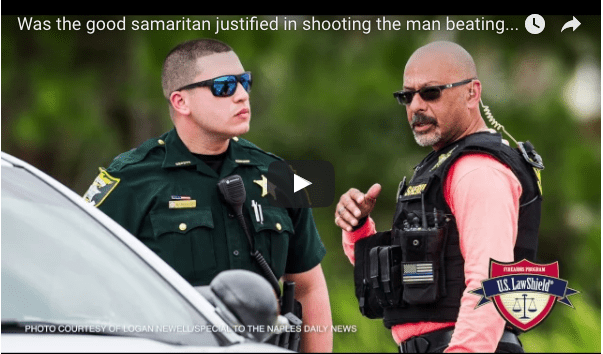 U.S. Law Shield video cover of two police officers wearing tactical gear