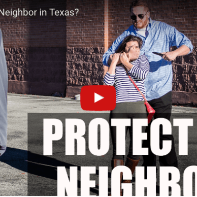 U.S. Law Shield video cover titled Protect Thy Neighbor?