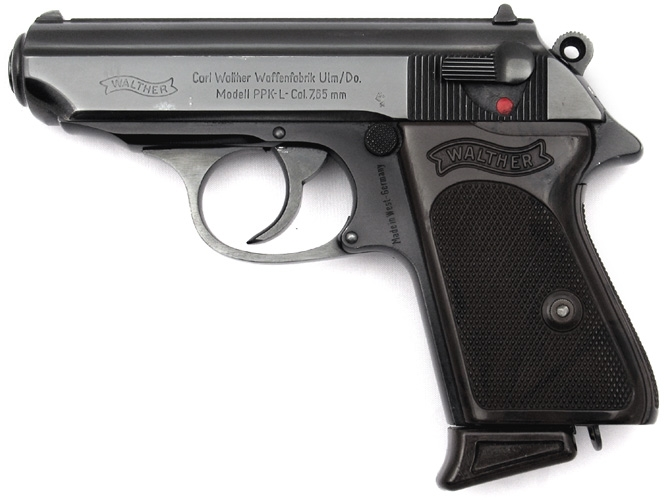 Firearm of the Week, the Walther PP/K/S - The Shooter's Log