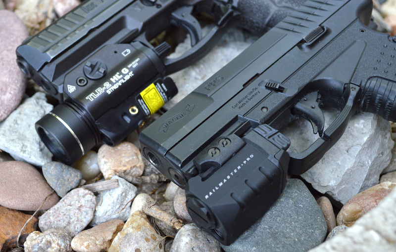 Crimson Trace and Streamlight weapon lights