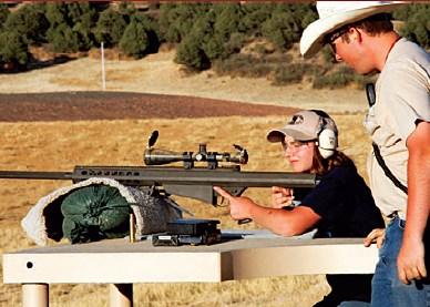 A camper favorite the Barrett .50 BMG.
