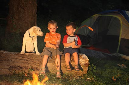 The true meaning of camping.