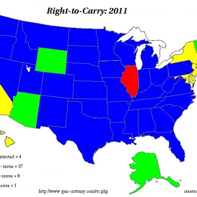 All states differ in their requirements in issuing a concealed carry permit.