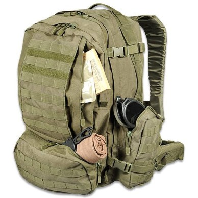 Bug-out bag and gear