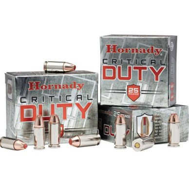 For 2013, Hornady has successfully made a .45 ACP +P round that meets the FBI's demands.