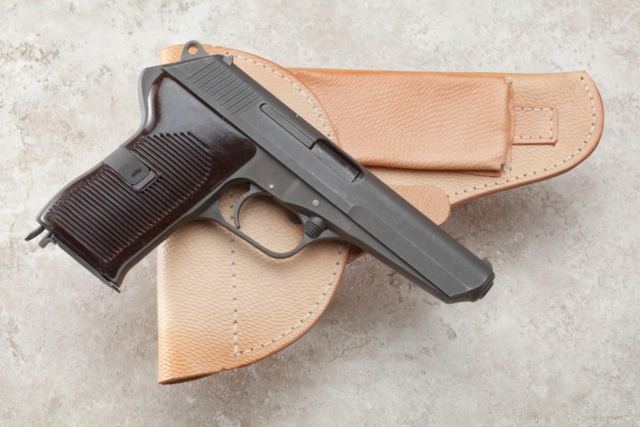 Unissued vz52 with original holster