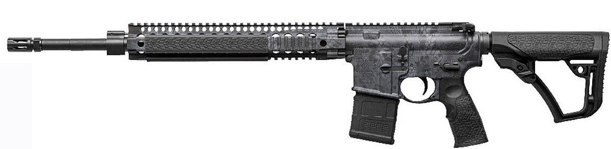 Daniel Defense AR-15 in Kryptek Typhon