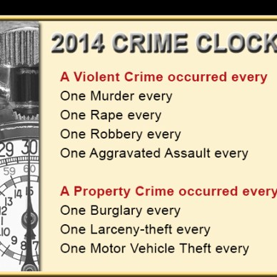 """The FBI just released its 2014 Uniform Crime Reports """"2014 Crime in the United States"""" summaries, and there are some notable statistics gun owners might find interesting."""