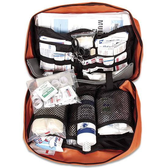 A good first aid kit is an essential item in your gear.