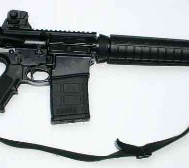 Smith & Wesson M&P10 right