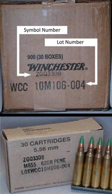 Winchester Recall