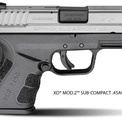 Springfield Armory XD9 Mod2 Subcompact 45ACP