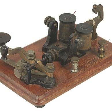 Old Telegraph Machine