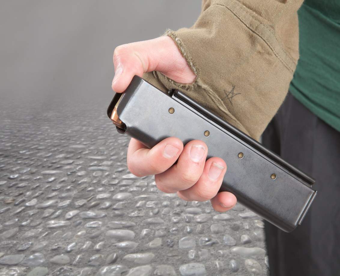 20rd stick magazine for Thompson carbine and submachine gun