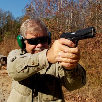 Bob shooting a Remington R1