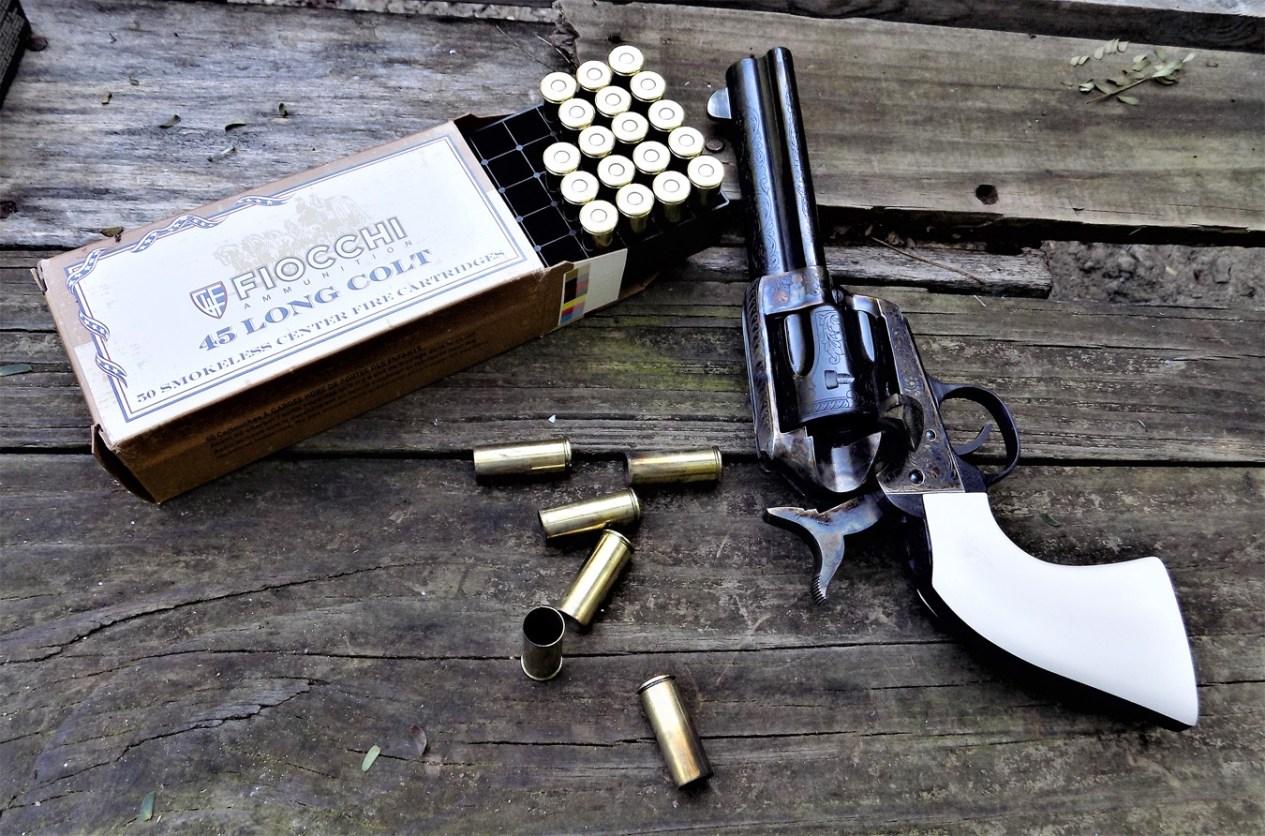 Traditions Bill Tilghman revolver and Fiocchi ammunition