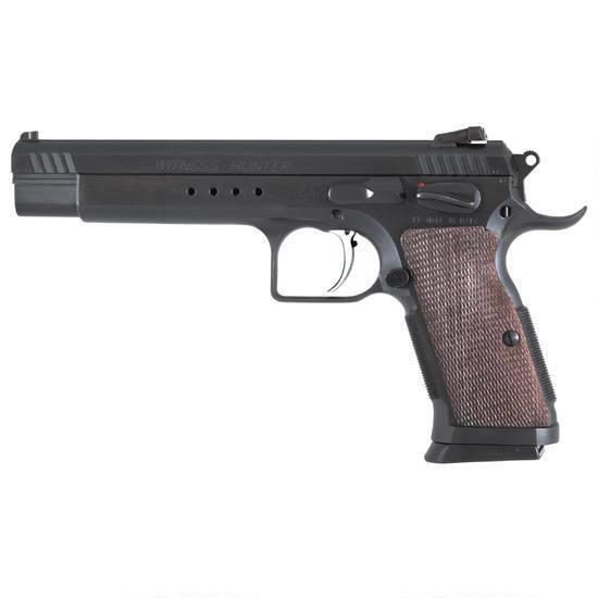 EAA Tanfoglio Witness hunter pistol left profile