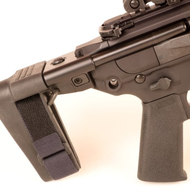 collapsible Pistol Stabilizing Brace