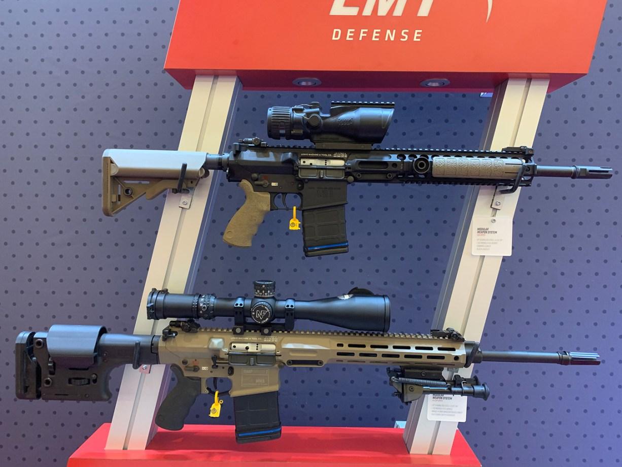 LMT AR-15 rifles at SHOT Show 2019