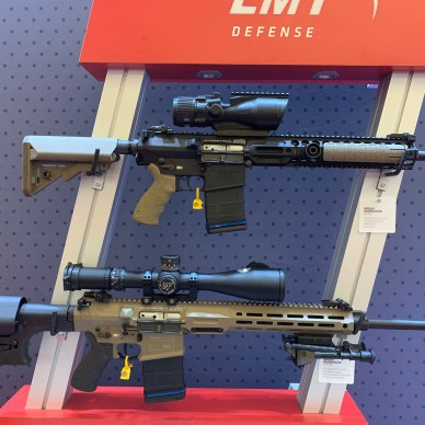LMT AR-15 rifles at SHOT Show 2019