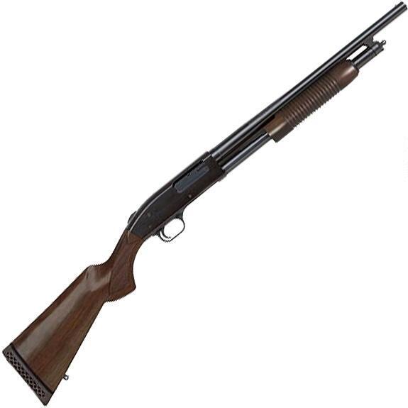 Mossberg 500 Persuader shotgun left profile
