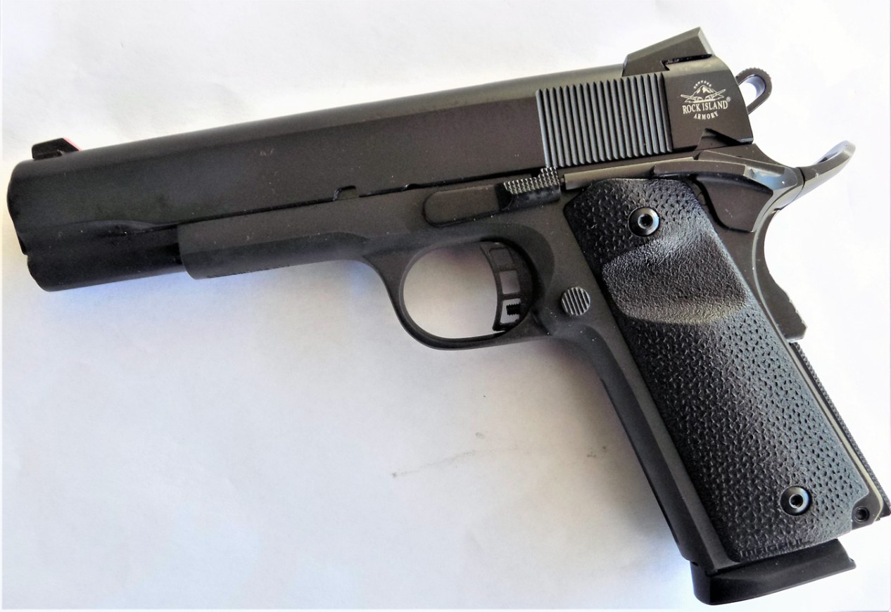 Review: Rock Island Armory Tactical 1911 9mm - The Shooter's Log