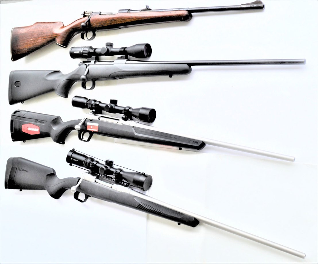 5 scoped rifles bigger guns