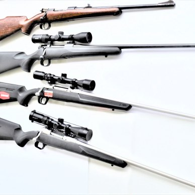 5 scoped rifles