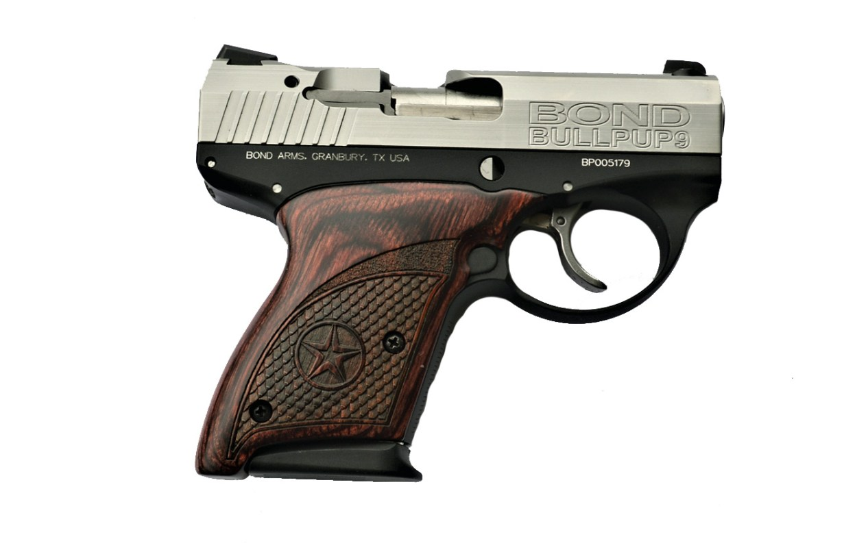 Bond Arms Bullpup 9mm right profile