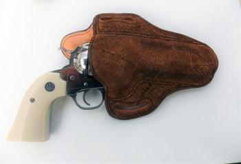 DM Bullard leather holster