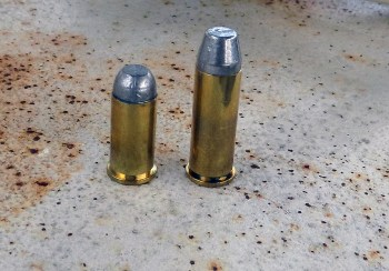 Two hardcast bullets