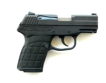 Kel-Tec PF9 pistol right profile