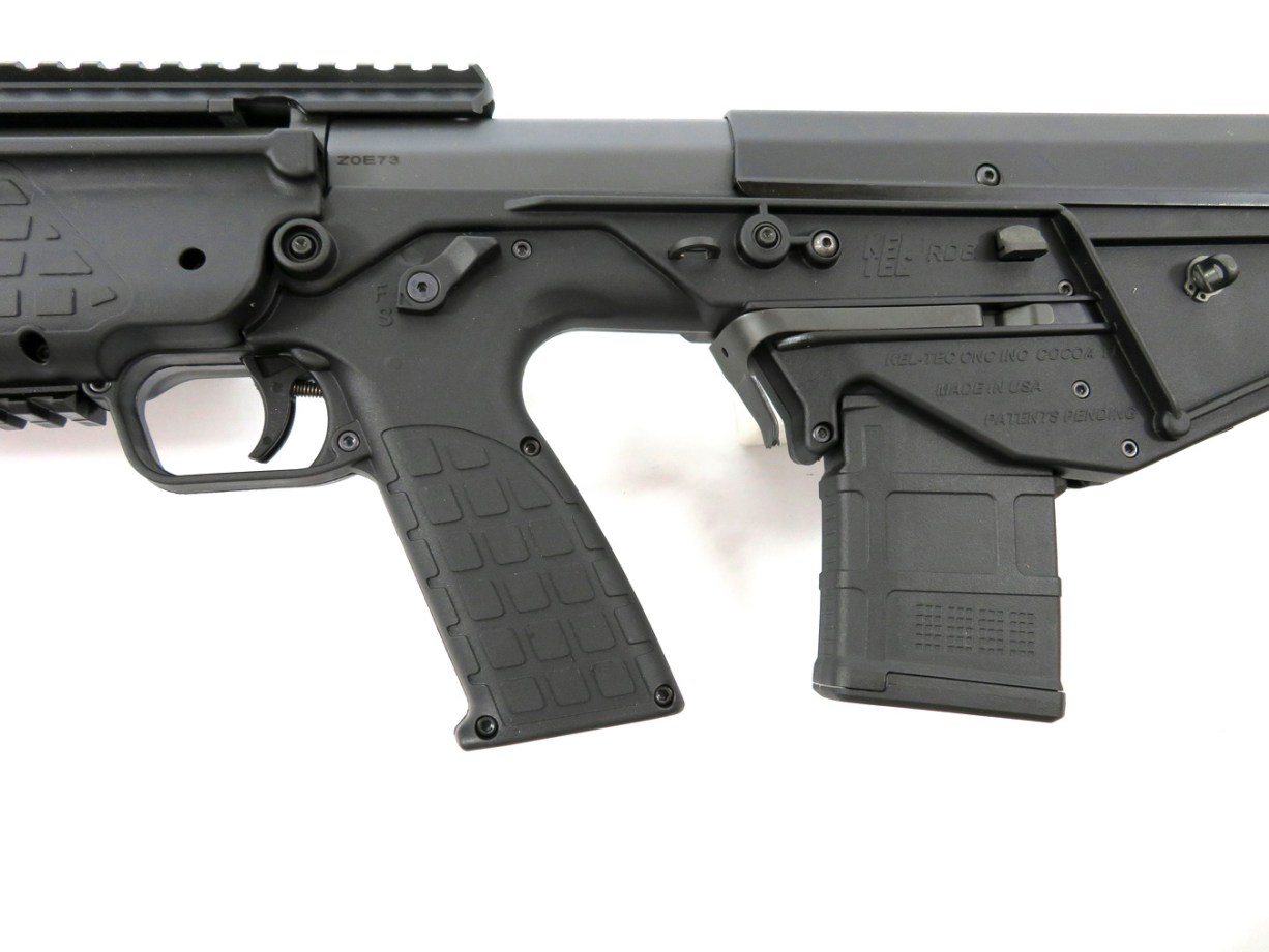 Ambidextrous safety selector on the Kel-Tec RDB17