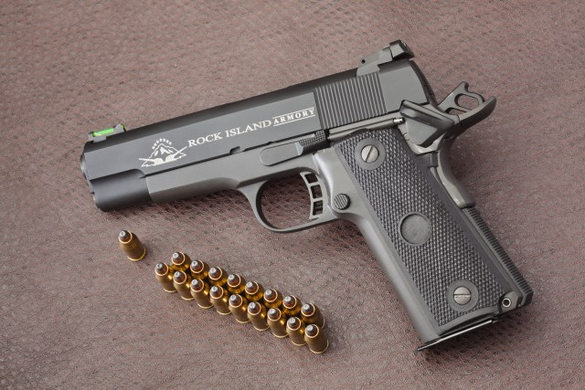 Rock Island Armory's 1911 is another great option.