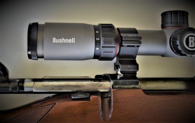 Bushnell Nitro scope close up
