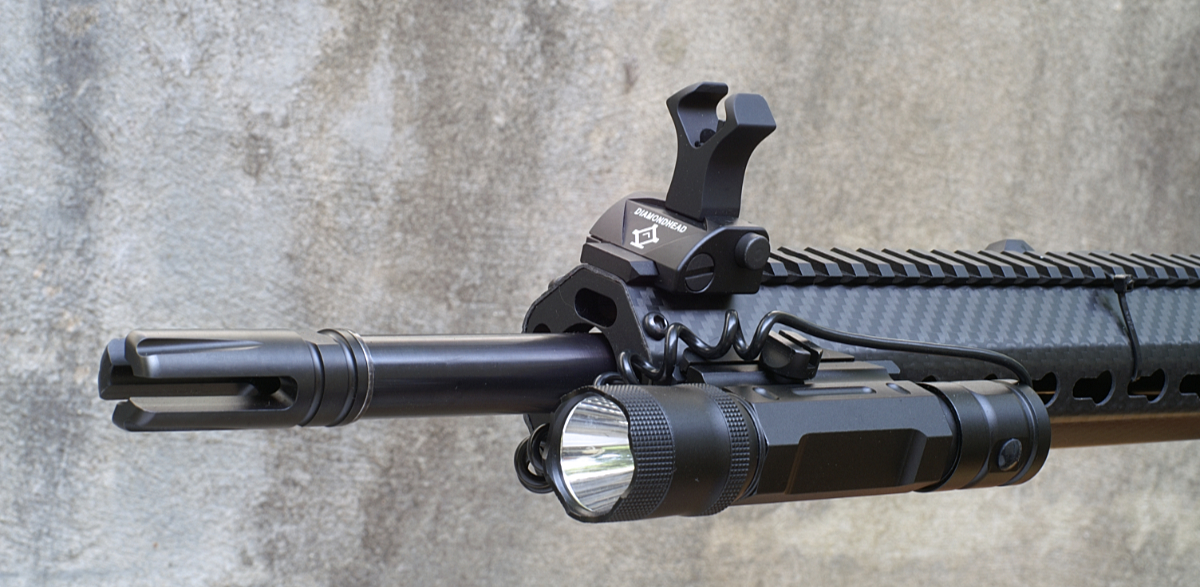 subsonic .300 blackout gun front